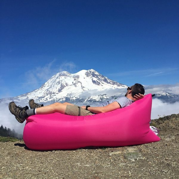 Pouchcouch Lightweight Carrying Pouch/Inflatable Couch
