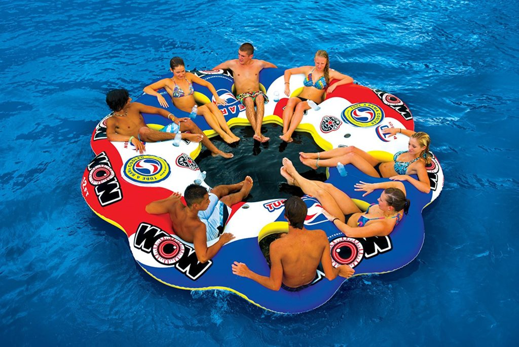 Tube A Rama – 10 Person Inflatable Floating Island