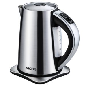 5 Best Stainless Steel Electric Kettles to Boil Water in 2018
