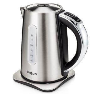 DeRozzi Stainless Steel Electric Kettle