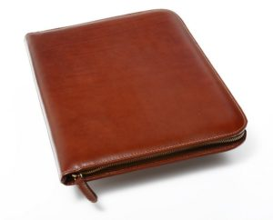 Personalized Leather Padfolio Executive Leather Writing Portfolio