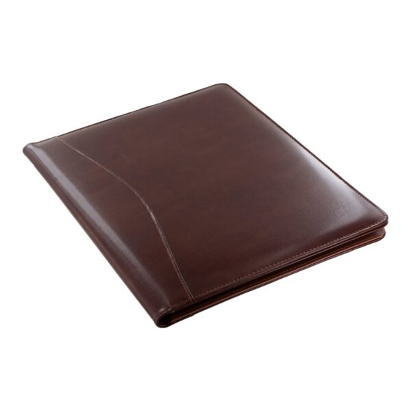 Royce Leather Shiny Leather Writing Portfolio
