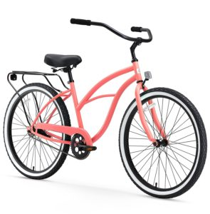 Sixthreezero Around the Block Women's 26 Inch Single Speed Cruiser bike