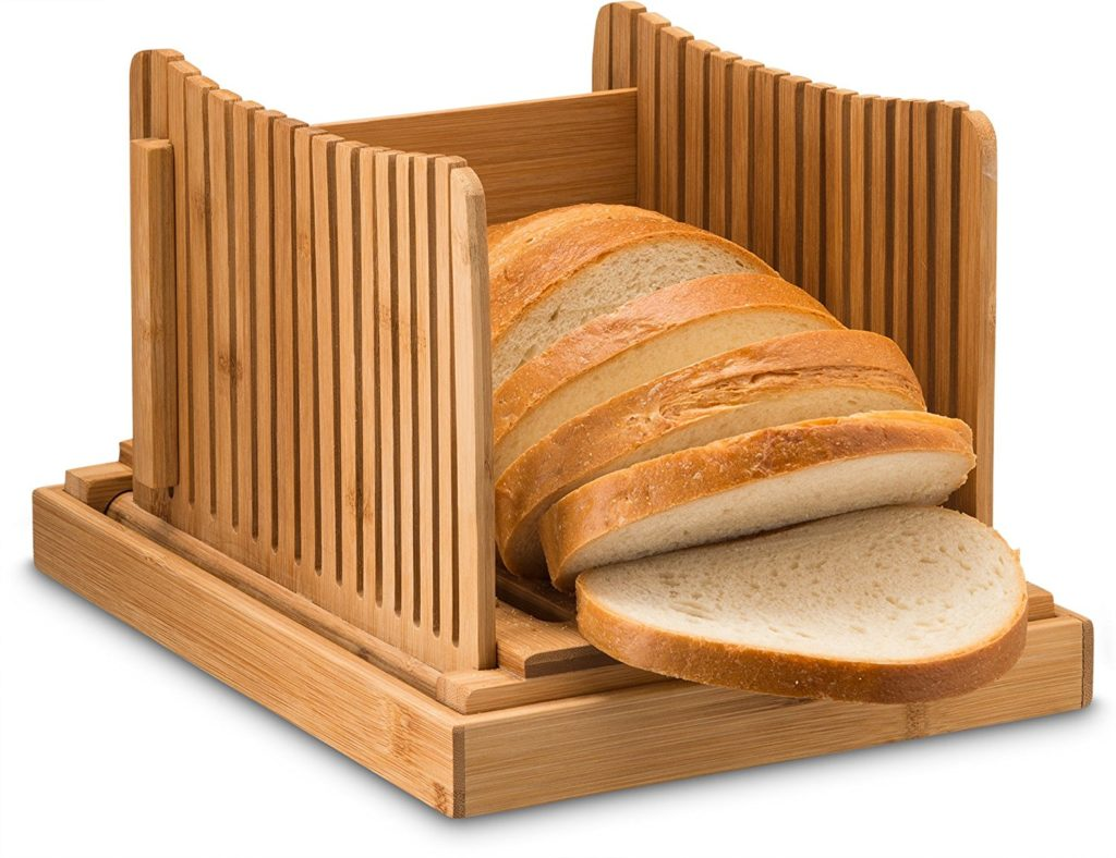 Bamboo Foldable Bread Slicer
