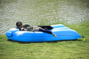 Homfu Inflatable Sofa Air Bag