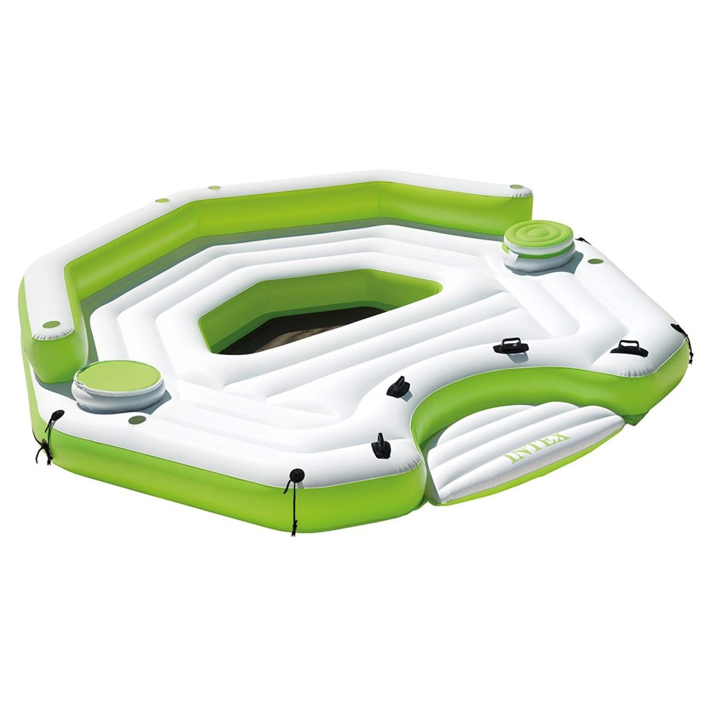 Intex Inflatable Key Largo Party Island Float