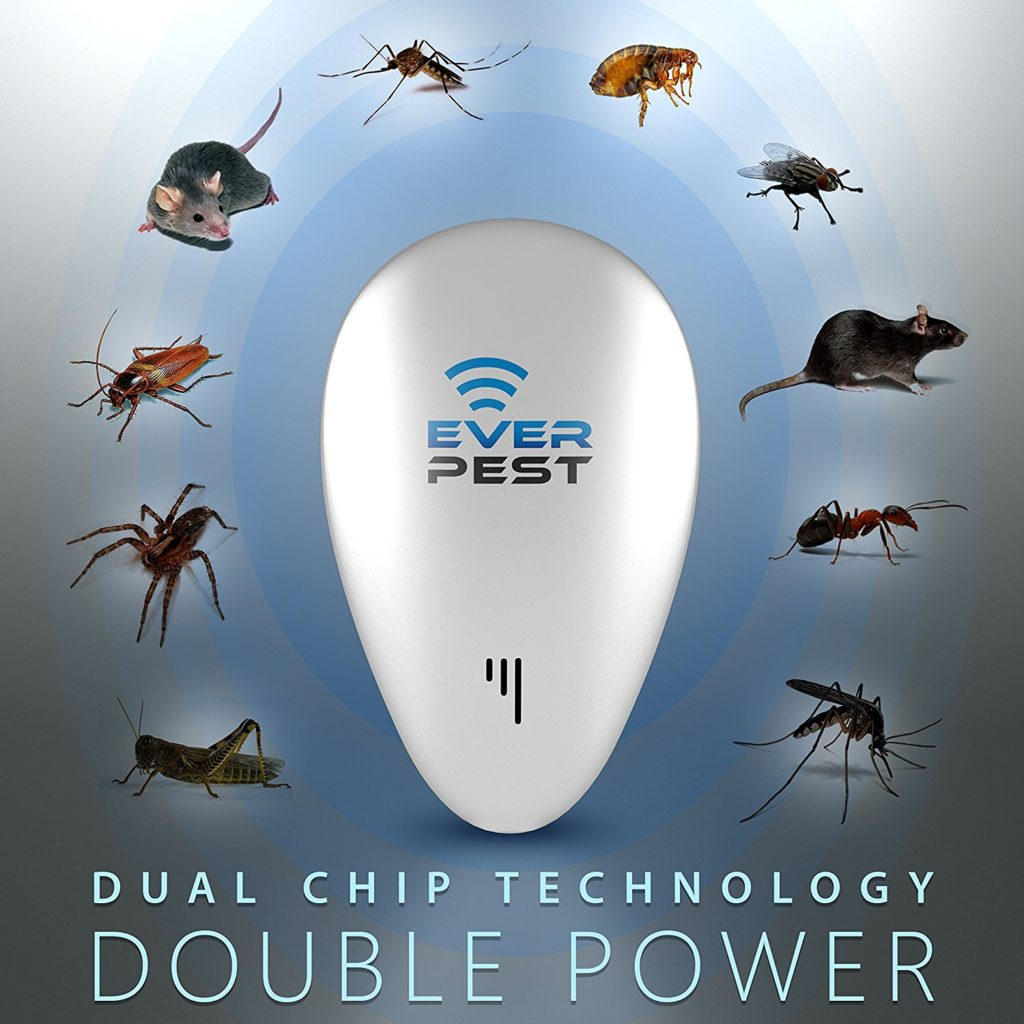 Ultrasonic Pest Mosquito Repellent Plug Control by EverPest
