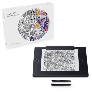 Wacom Intuos Pro Paper Edition digital graphic drawing tablet for Mac or PC