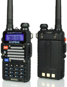 Baofeng Radio US BF-F9 V2+ Hand Held Ham Radio Two-Way Transceiver