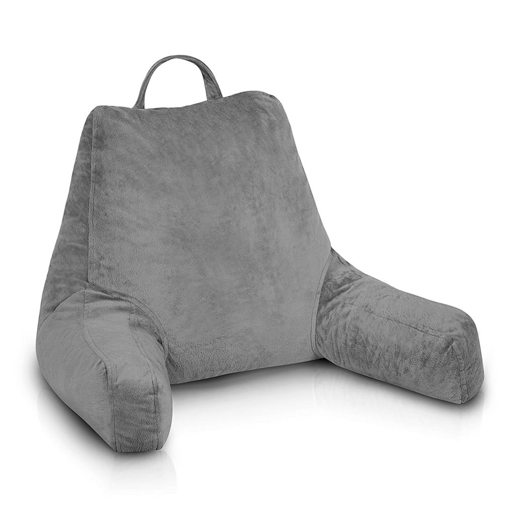 ComfySure Bedrest Reading Pillow With Armrests