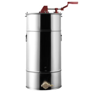 Goplus 2-Frame Stainless Steel Large Honey Extractor