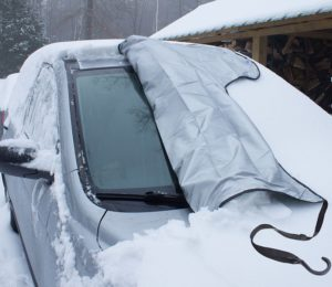 SnowOFF Car Windshield Snow Ice Cover - Sun Shade Protector