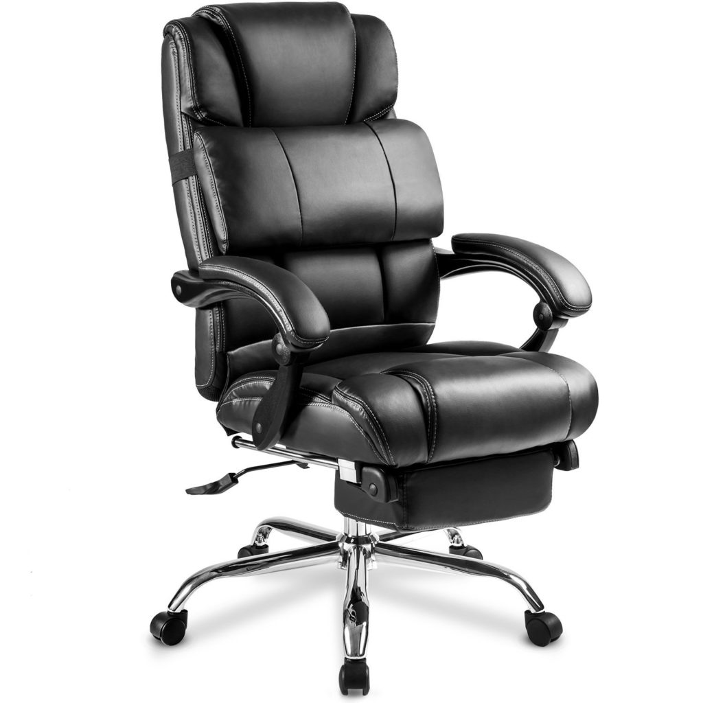 Merax Portland Leather Recliner