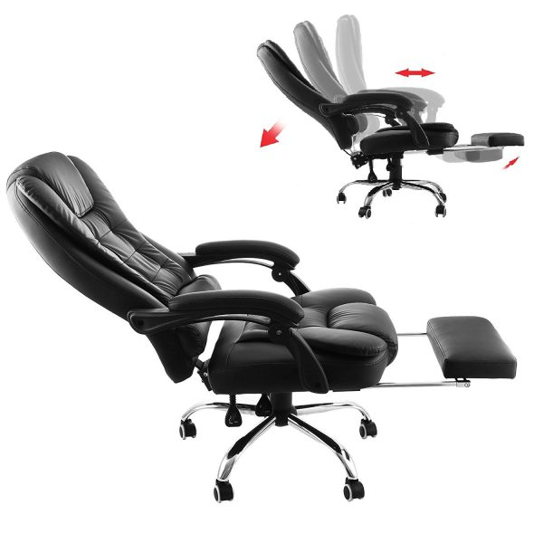 9 Best Reclining Office Chairs With Footrest In 2019