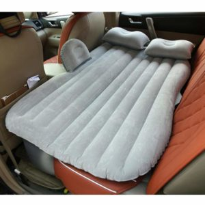 HAITRAL Car Inflatable Mattress Travel Camping Air Bed Universal SUV Air Couch with 2 Air Pillows
