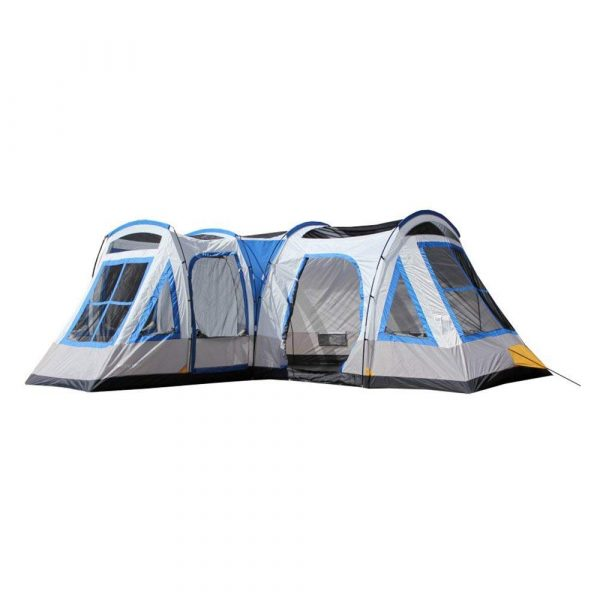 Tahoe Gear Gateway 12-Person Deluxe Cabin Family Camping Tent