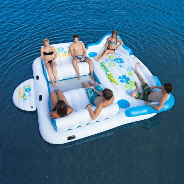 Tropical Tahiti Floating Island - 6 Person