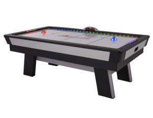 Atomic Top Shelf 7.5' Multicolor LED Illuminated Air Hockey Table