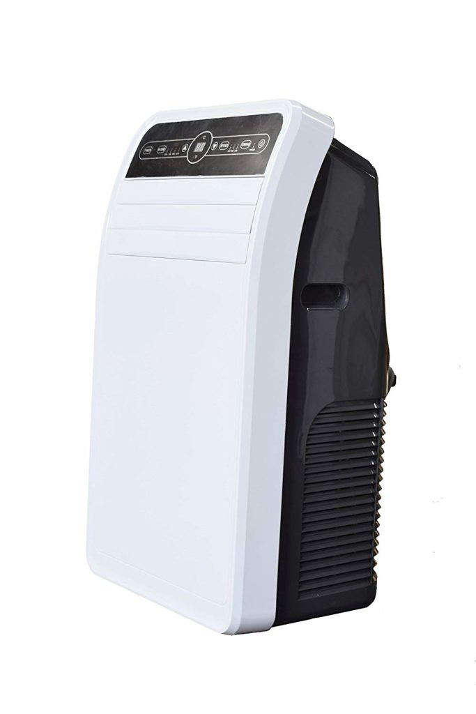 Global Air YPF1-12C 12000 BTU Portable Air Conditioner, Medium, White
