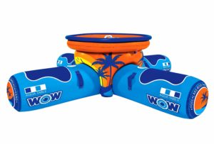 WOW World of Watersports, 12-2000 Aqua Table, Inflatable Floating Picnic Table