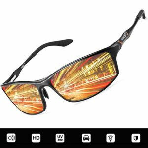 Polarized Night Driving Glasses Anti Glare Safety