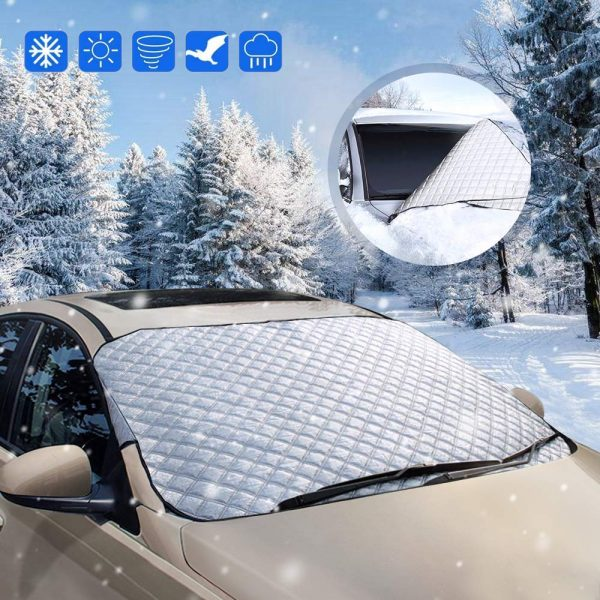 Frost Protection Vehicle Premium Winter Windshield Wiper Blade Cover for Snow