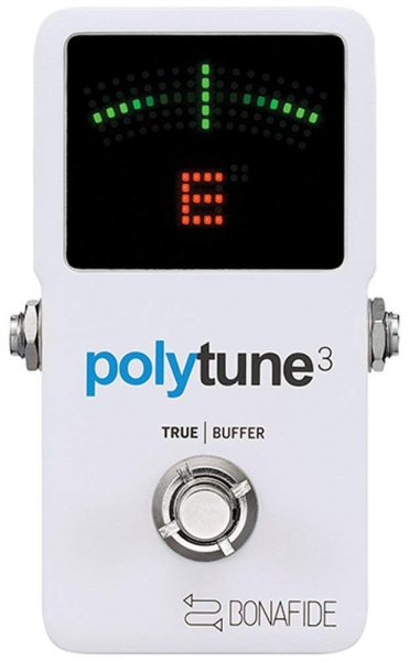 TC Electronic PolyTune 3 Polyphonic LED Guitar Tuner