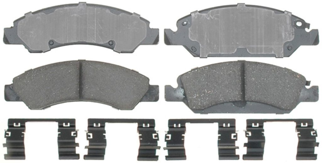 ACDelco 17D1367CH Professional Ceramic Front Disc Brake Pad Set