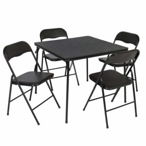 Best Choice Products 5PC Folding Table & Chairs