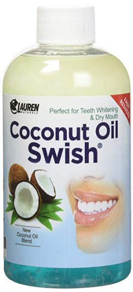 Coconut Oil Pulling Mouthwash