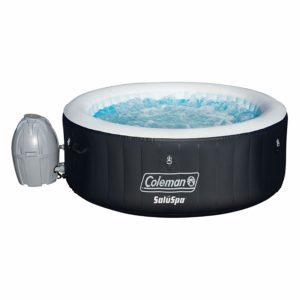 "Coleman 71"" x 26"" Portable Spa Inflatable 4-Person Hot Tub"
