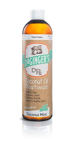 Dr Gingers Coconut Oil Pulling & Whitening Mouthwash