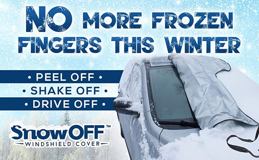 SnowOFF Car Windshield - A Best Frost Guard Windshield Cover