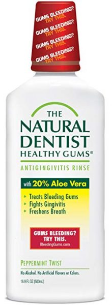 The Natural Dentist Healthy Gums Antigingivitis Mouthwash