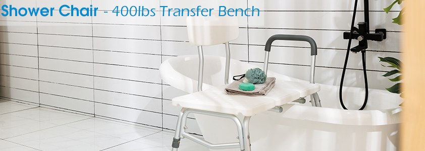 OasisSpace - Adjustable Handicap Shower Chair