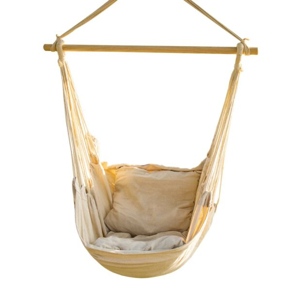 CCTRO Hanging Rope Hammock Chair Swing Seat