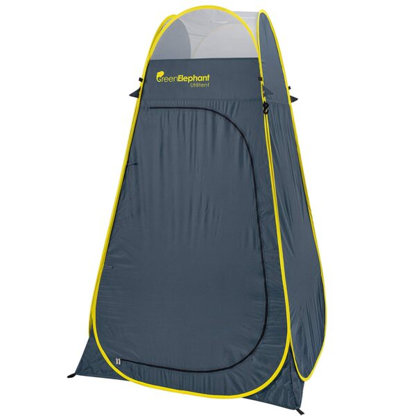 WolfWise Camping Toilet Tent Pop Up Shower Privacy Tent for Outdoor Changing Dressing Fishing Bathing Storage Room Tents Portable with Carrying Bag
