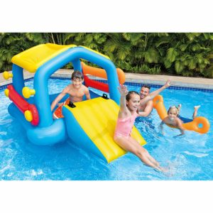 Intex Cabin Island with Slide & Removable Sides