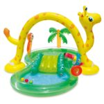 Lovely Best Inflatable Pools for Kids with Slides & Play Centers