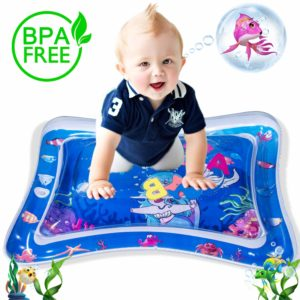 WETONG Tummy Time Inflatable Water Mat