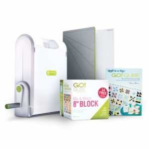 AccuQuilt Ready. Set. GO! Ultimate Fabric Cutting System with GO! Fabric Cutter, GO!