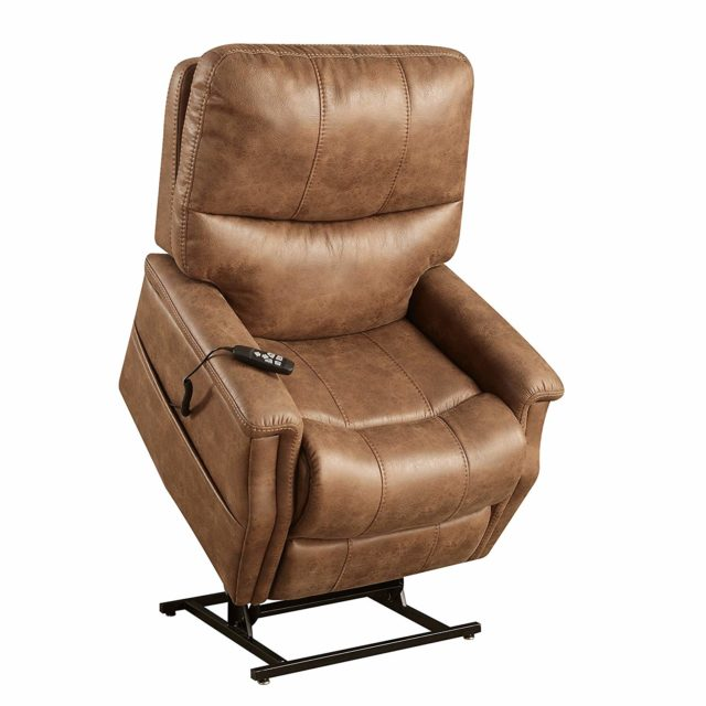 Pulaski Faux Leather Dual Motor Lift Chair