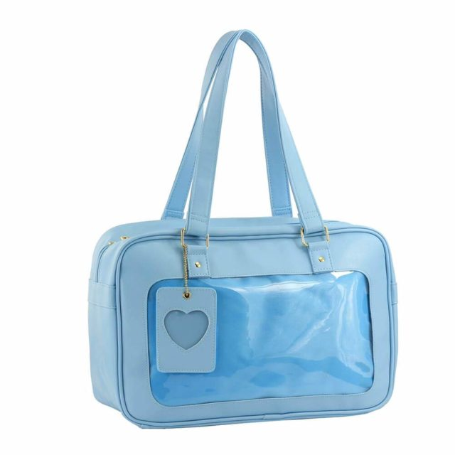 SteamedBun Ita Bag Clear Window Handbag