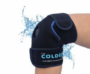 The Coldest Knee Ice Pack Wrap