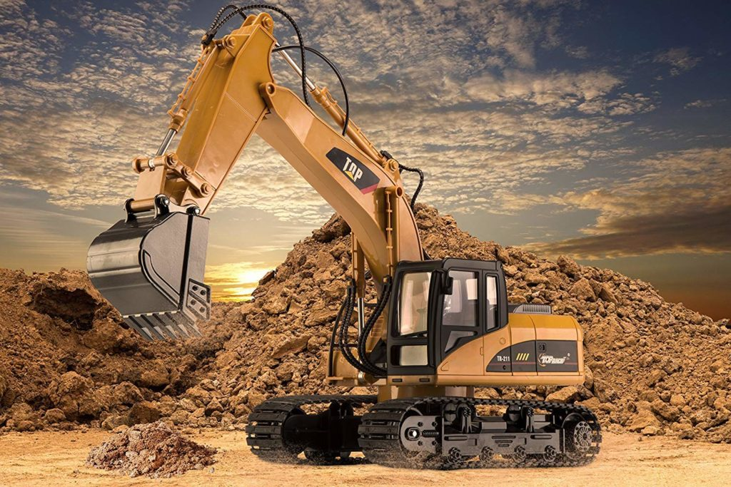 Top Race Remote Control Excavator
