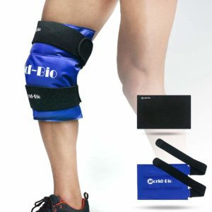 WORLD-BIO Knee Ice Gel Pack Wrap