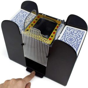 Brybelly 6 Deck Automatic Card Shuffler