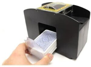 Brybelly Four Deck Automatic Card Shuffler