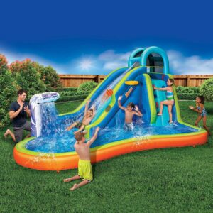 Banzai Inflatable Backyard Water Slide
