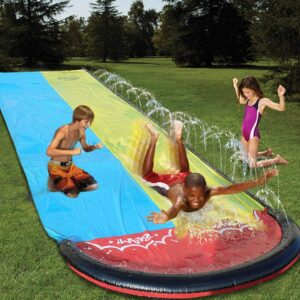 Inflatable Water Slip and Slide by Just E Joy